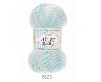 Farbe 6623 - Alize Baby Best Batik 100g