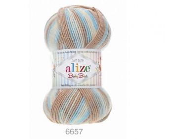Farbe 6657 - Alize Baby Best Batik 100g