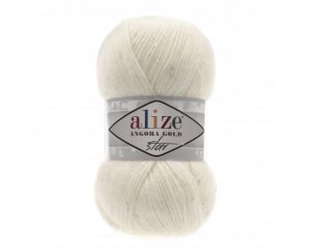 Farbe 62 cream - Alize Angora Gold Star 100g