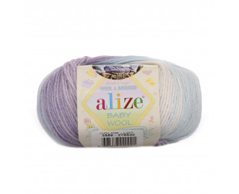 Farbe 3566 - ALIZE Baby Wool Batik 50g