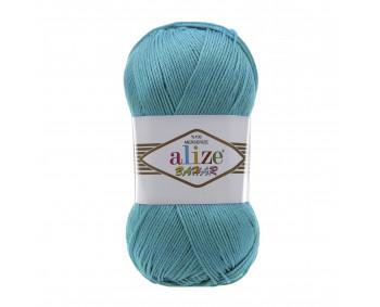 Farbe 16 türkis - ALIZE Bahar Uni 100g