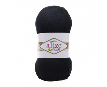 Farbe 60 schwarz - ALIZE Bahar Uni 100g