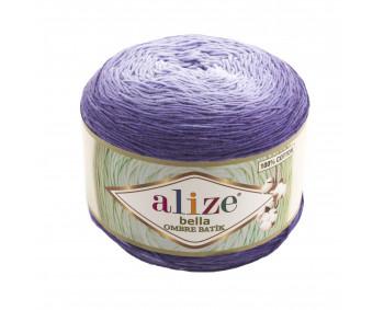 Farbe 7406 - ALIZE Bella Ombre Batik 250g Baumwolle
