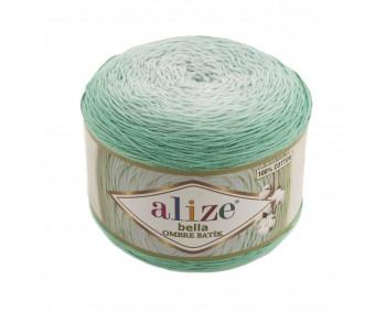 Farbe 7408 - ALIZE Bella Ombre Batik 250g Baumwolle