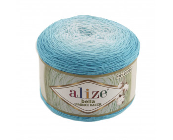 Farbe 7409 - ALIZE Bella Ombre Batik 250g Baumwolle