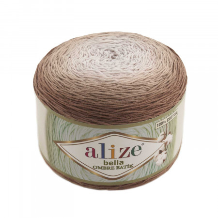 Farbe 7410 - ALIZE Bella Ombre Batik 250g Baumwolle
