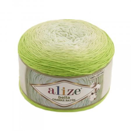 Farbe 7412 - ALIZE Bella Ombre Batik 250g Baumwolle