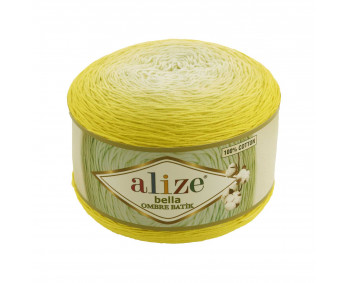 Farbe 7414 - ALIZE Bella Ombre Batik 250g Baumwolle