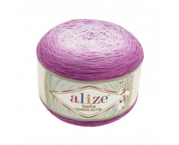 Farbe 7429 - ALIZE Bella Ombre Batik 250g Baumwolle