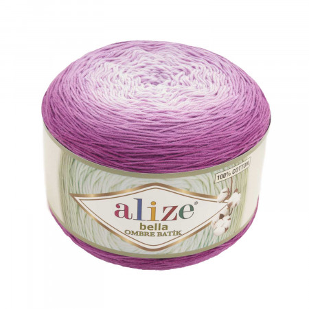 Farbe 7431 - ALIZE Bella Ombre Batik 250g Baumwolle