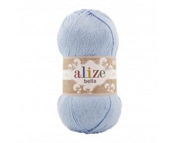 !NEU! Farbe 40 blau - ALIZE Bella Uni 100g Baumwolle