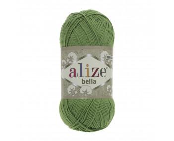 !NEU! Farbe 492 grün - ALIZE Bella Uni 100g Baumwolle