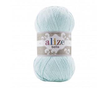 !NEU! Farbe 514 winter sky - ALIZE Bella Uni 100g Baumwolle