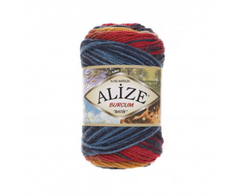 Farbe 4340 - ALIZE Burcum Batik 100g