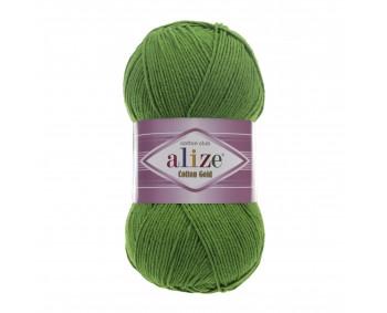 Farbe 126 gras - ALIZE Cotton Gold Uni 100g