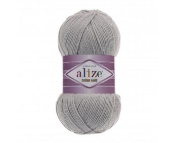 !NEU! Farbe 21 grau melange - ALIZE Cotton Gold Uni 100g