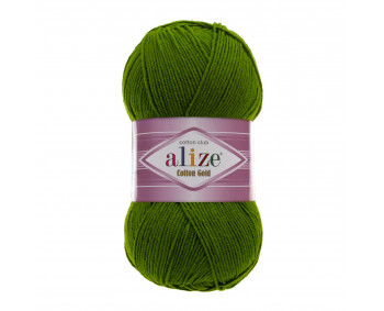 !NEU! Farbe 35 grün - ALIZE Cotton Gold Uni 100g