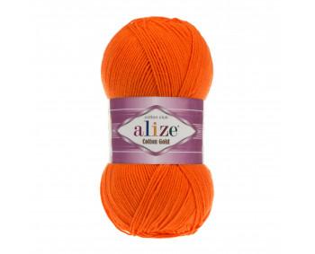 !NEU! Farbe 37 orange - ALIZE Cotton Gold Uni 100g
