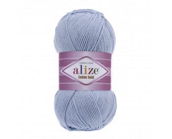 !NEU! Farbe 40 blau - ALIZE Cotton Gold Uni 100g