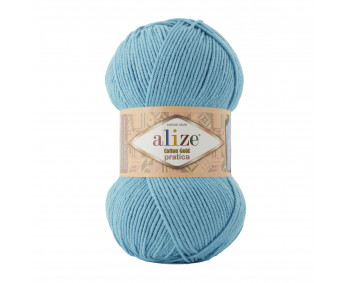 Farbe 287 türkis - Alize Cotton Gold Pratica 100g