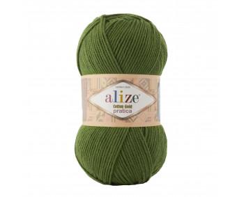 Farbe 35 grün - Alize Cotton Gold Pratica 100g