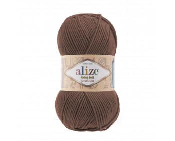 Farbe 493 braun - Alize Cotton Gold Pratica 100g