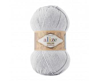 Farbe 533 hellgrau - Alize Cotton Gold Pratica 100g
