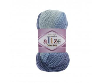 Farbe 3299 - ALIZE Cotton Gold Batik 100g