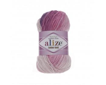 Farbe 3302 - ALIZE Cotton Gold Batik 100g