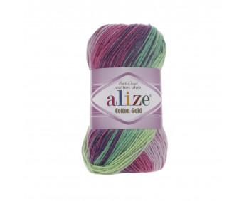 Farbe 4147 - ALIZE Cotton Gold Batik 100g