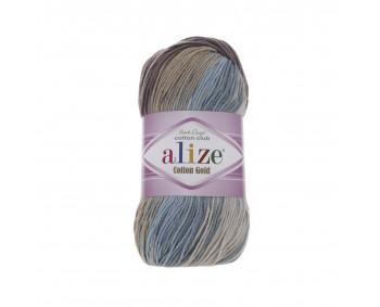 Farbe 4148 - ALIZE Cotton Gold Batik 100g