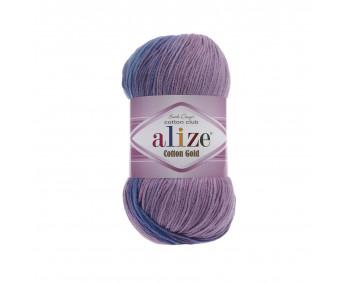 Farbe 4531 - ALIZE Cotton Gold Batik 100g