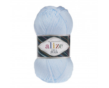 Farbe 480 hellblau - ALIZE Diva Plus Microfaser 100g