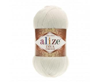 Farbe 62 cream - Alize Diva Stretch 100g