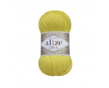 Farbe 110 gelb - ALIZE Diva Uni Microfaser 100g