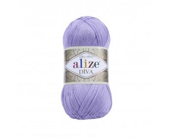 !NEU! Farbe 158 lavendel - ALIZE Diva Uni Microfaser 100g