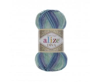 Farbe 1767 - ALIZE Diva Batik 100g