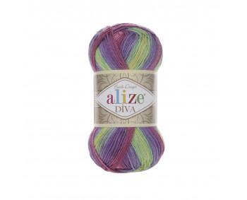 Farbe 3241 - ALIZE Diva Batik 100g