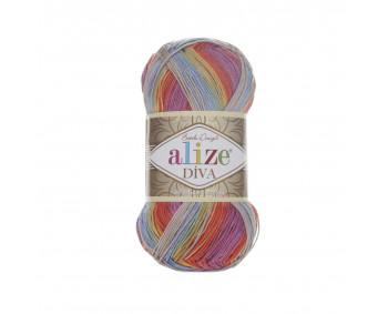 Farbe 3242 - ALIZE Diva Batik 100g