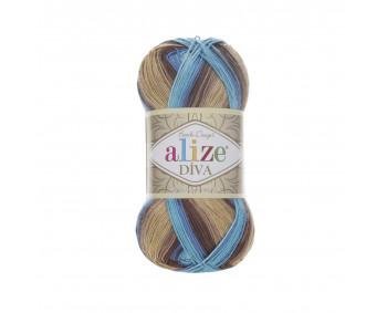 Farbe 3243 - ALIZE Diva Batik 100g