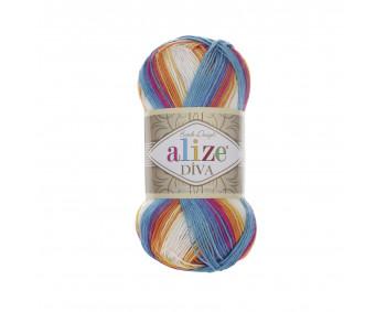 Farbe 4538 - ALIZE Diva Batik 100g
