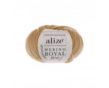 Farbe 97 caramel - Alize Merino Royal Fine 50g - Premium Collection