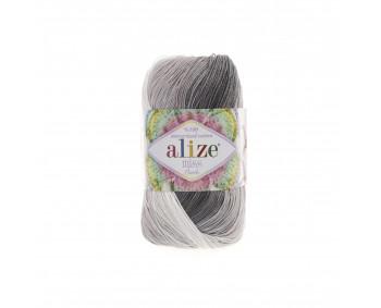 Farbe 3722 - ALIZE Miss Batik 50g Baumwolle
