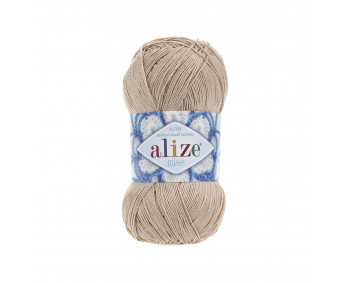 Farbe 368 camel - ALIZE Miss 50g Baumwolle