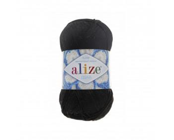 Farbe 60 schwarz - ALIZE Miss 50g Baumwolle
