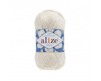 Farbe 62 creme - ALIZE Miss 50g Baumwolle