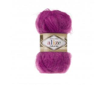 Farbe 149 fuchsia - Alize Naturale 100g - Wool & Cotton