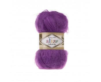 Farbe 206 purple - Alize Naturale 100g - Wool & Cotton