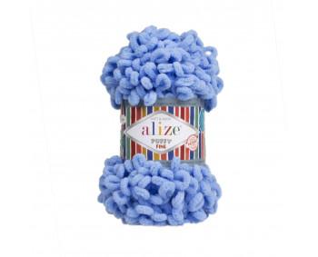 Farbe 112 blau - Alize Puffy Fine 100g