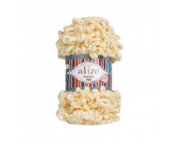 Farbe 160 vanille - Alize Puffy Fine 100g
